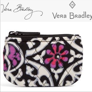 🆕NWT Vera Bradley scroll medallion coin purse